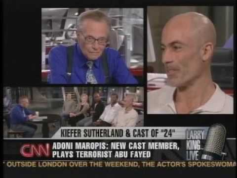Adoni as the ultimate villain shown on Larry King - 2 min 14 seconds