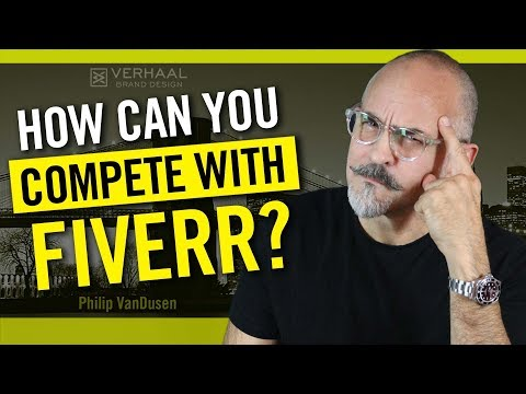 How To Compete With Fiverr and Low Cost Design Sites