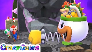 Mario Party Island Tour - Bowser's Tower Gameplay