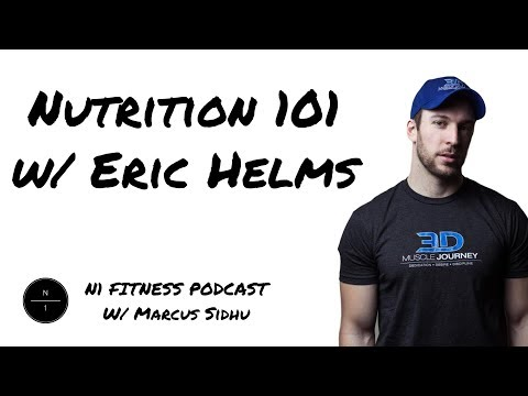 3: Nutrition 101 w/ Eric Helms PhD