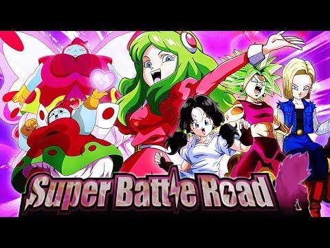 FAILING NNN! PEPPY GALS SUPER BATTLE ROAD!   Dragon Ball Z DBZ Dokkan Battle