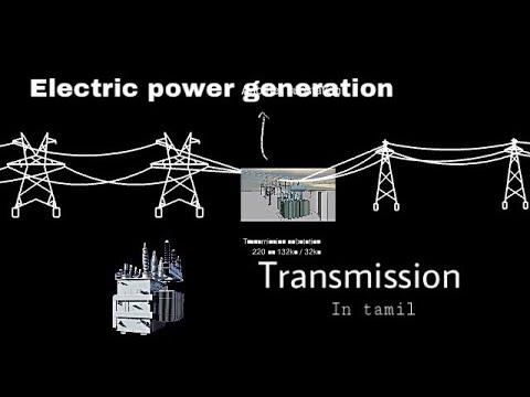 Electric Basic Transmission line tamil