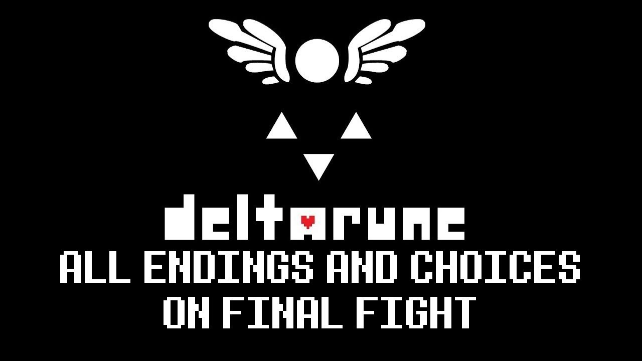 Deltarune All Endings + Some Choices - Video - ViLOOK