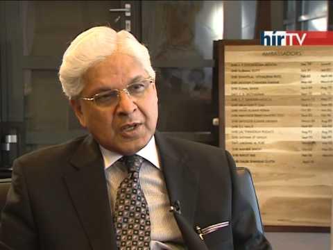Interview Of  Dr. Ashwani Kumar with hirTV in Hungary
