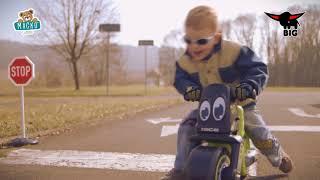 Bébitaxi kismotor Girl Bike BIG 18 hónapos kortól
