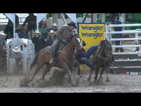 Calgary Stampede - Rodeo Highlights Of The Day - Day 9