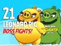 Angry Birds Fight Leonard Pig BOSS FIGHTS IOS Android mp3