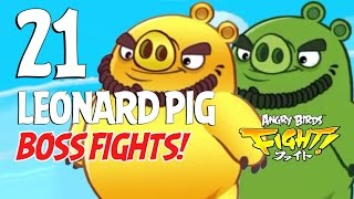 Angry Birds Fight! Leonard Pig BOSS FIGHTS! - iOS, Android