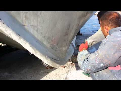 Polyester tekne kaplama