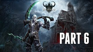 Diablo 3 Necromancer Campaign Walkthrough Part 6 - The Drowned Temple (PS4 Pro Gameplay)