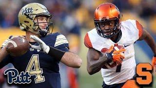 20 TD! Pitt & Syracuse Set FBS Scoring Record
