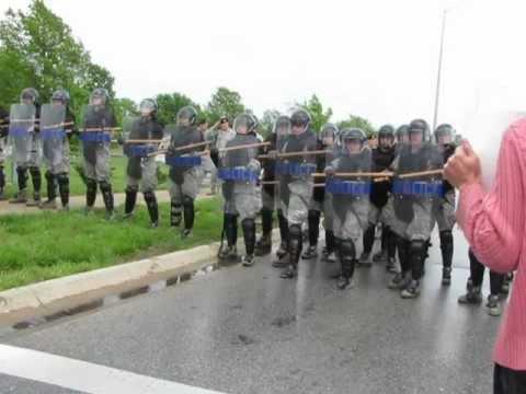 Protest Against Drones Whiteman AFB Trifecta Resista  12Ap15 936