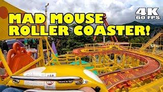 Mad Mouse Roller Coaster POV! INSANE! Fuji-Q Japan 4K60 富士急ハイランド