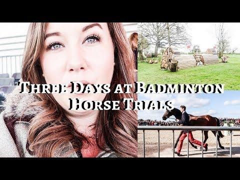 THREE DAYS AT BADMINTON HORSE TRIALS - Weekly Vlog #85, Sophie Callahan