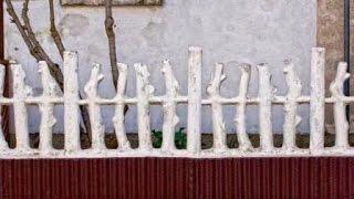 видео Декоративный забор: как сделать своими руками и какие есть варианты?