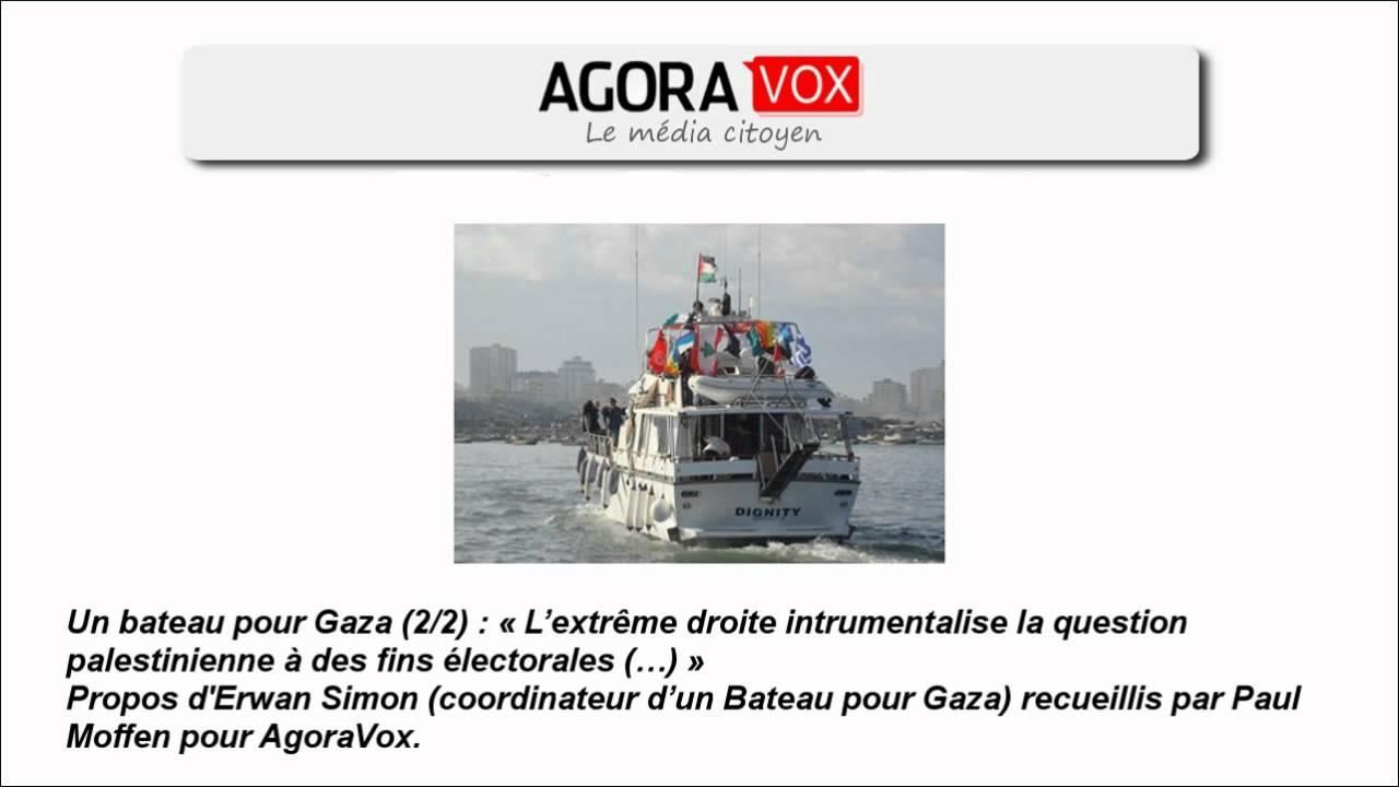 Download Un bateau pour Gaza (2/2) : « L'extrême droite intrumentalise la question palestinienne...»