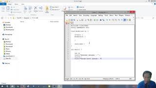 Membuat Coding Decimal ke Biner Dalam C++