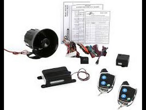 Prestige APS25C Car Alarm By Audiovox Overview YouTube