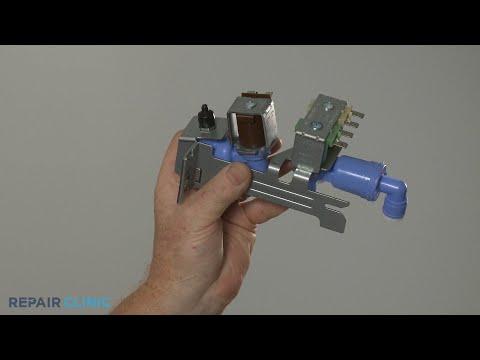 Water Inlet Valve Replacement - Frigidaire Refrigerator FFSS2315TS0