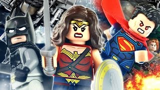 "LEGO Batman v Superman : 76046 ""Heroes of Justice: Sky High Battle"" - Review"