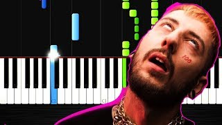 Khontkar - Mary Jane feat. Burry Soprano - Piano Tutorial ( Karaoke ) by VN Video