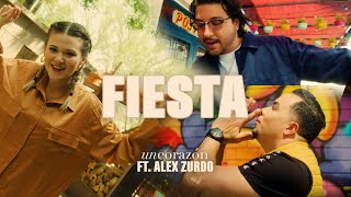 Un Corazón - Fiesta Ft. Alex Zurdo (Videoclip Oficial)