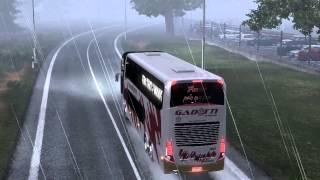 Euro Truck Simulator 2 Bus Trip With Marcopolo G7 1800dd Volvo Part6