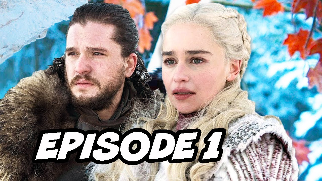 Game Of Thrones Season 8 Episode 1 Official Preview and New Scenes Breakdown