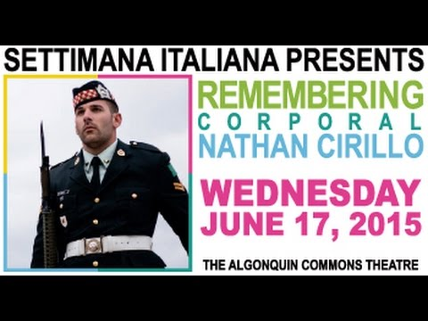Remembering Corporal Nathan Cirillo