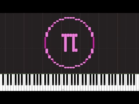 Play π on Synthesia