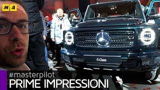 Mercedes Classe G 2018, così uguale e così diversa | VLOG da Detroit
