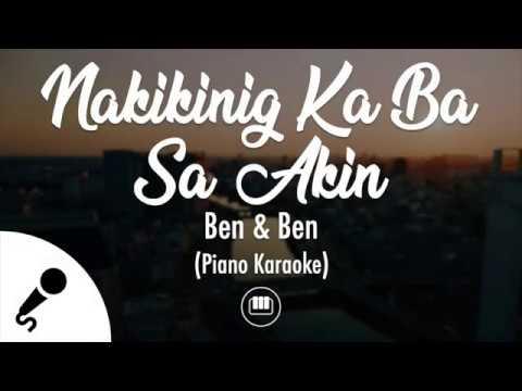 Download Nakikinig Ka Ba Sa Akin - Ben & Ben (Piano Karaoke)