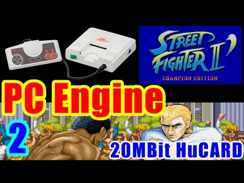 [2/3] ガイル(Guile) - STREET FIGHTER II DASH(PC-Engine)