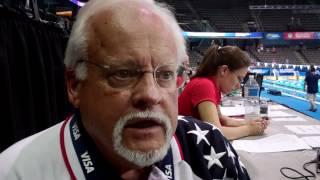 Chuck - Head Referee - 2012 US Olympic Swim Team Trials