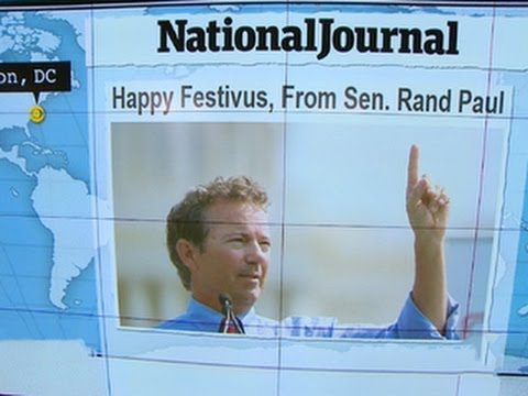Headlines At 8:30: Rand Paul Embraces Festivus
