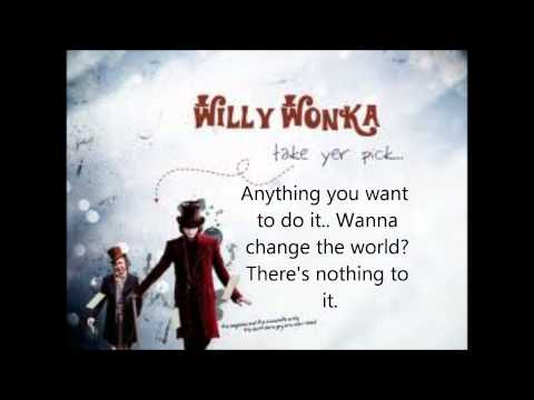 Pure Imagination  - LYRICS