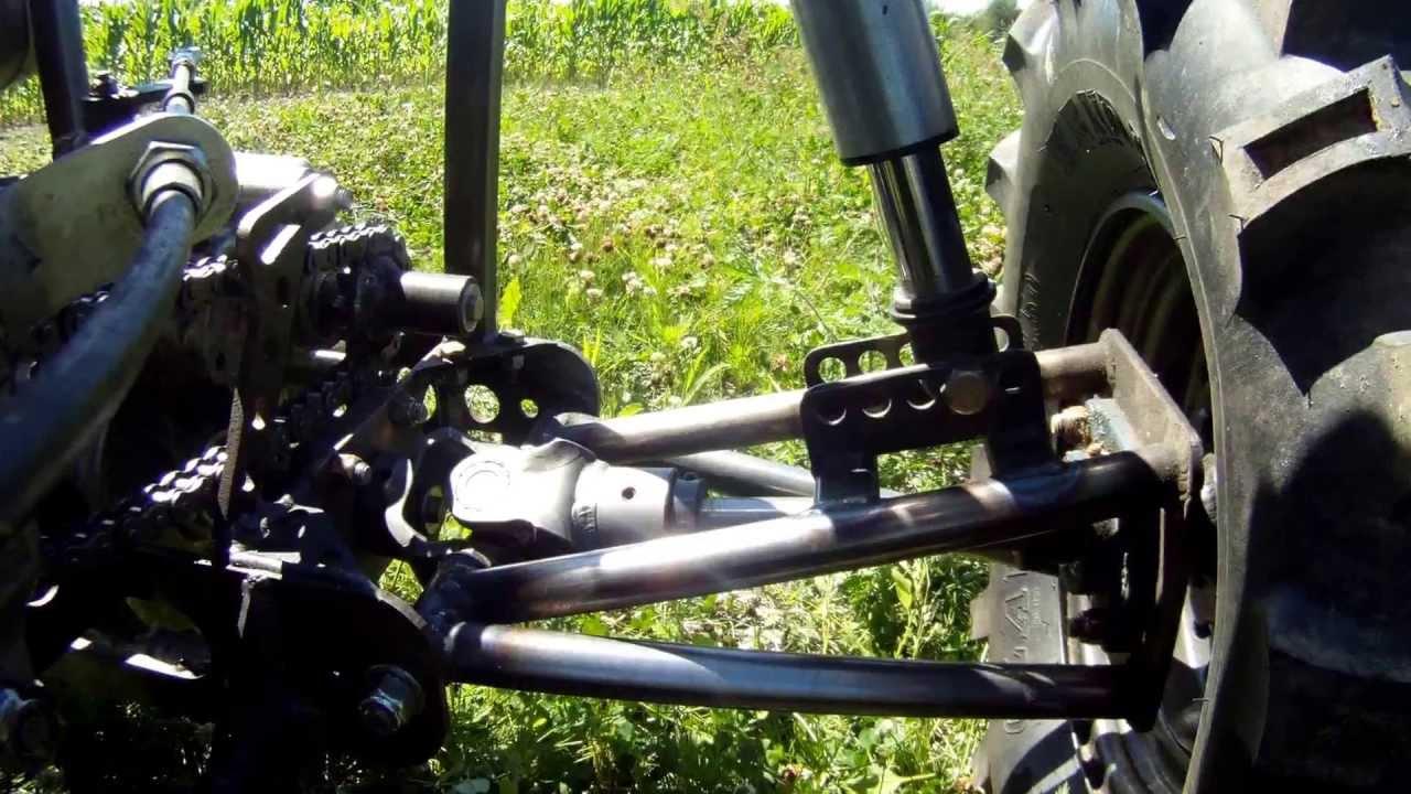 250 Microburst Dune Buggy Rear Suspension