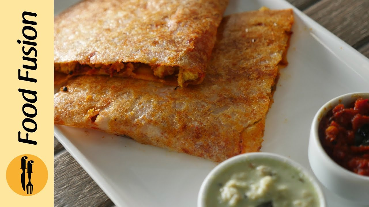 Chicken Masala Dosa Recipe by Food Fusion