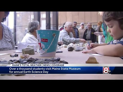 Maine State Museum hosts annual Earth Science Day