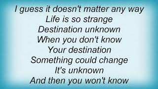 Smashing Pumpkins - Destination Unknown Lyrics