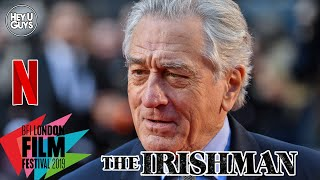 Robert De Niro on the long journey to Martin Scorsese's The Irishman LFF Premiere