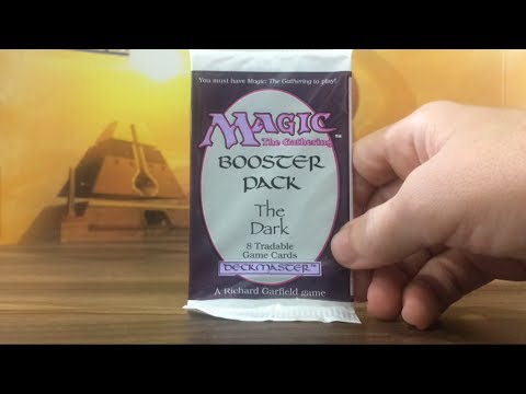2nd The Dark Booster Pack Opening MTG Magic The Gathering