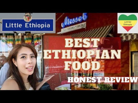 Best Ethiopian Food – The ONE DISH You Have To Eat in ETHIOPIA! (Little Ethiopia Los Angeles)