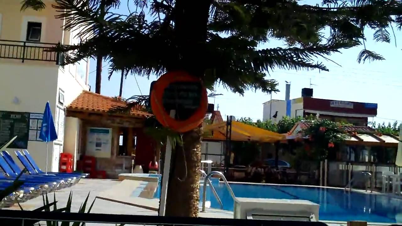 Panorama Hotel Amp Appts Stalis Crete Youtube