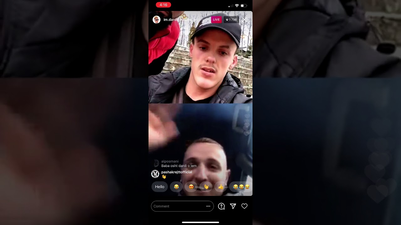 Download Dardi vs Lemi live tu ofendu ne Instagram