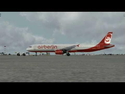 from Tel Aviv to Frankfurt (airberlin)