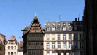Достопримечательности Страсбурга Франция(Короткая видео-прогулка по Страсбургу., 2016-05-09T12:04:48.000Z)
