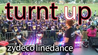 PVAMU vs The Line Dance Queen Prt.2-Turnt Up Zydeco Line Dance