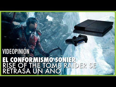 EL CONFORMISMO SONIER: Rise of the Tomb Raider saldrá un año más tarde en PS4 | Jota Delgado