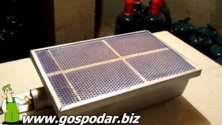 видео Обзор Газовая тепловая пушка AURORA GAS HEAT-50